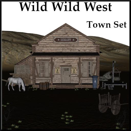 Wild Wild West: Town