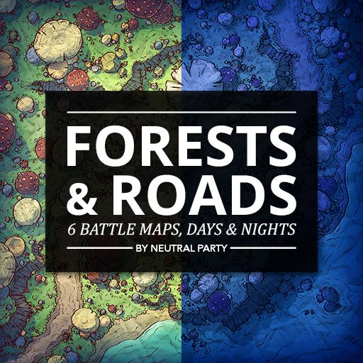 Forests & Roads Map Pack 4