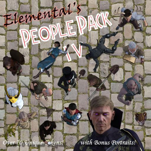 Elemental's People Pack 4