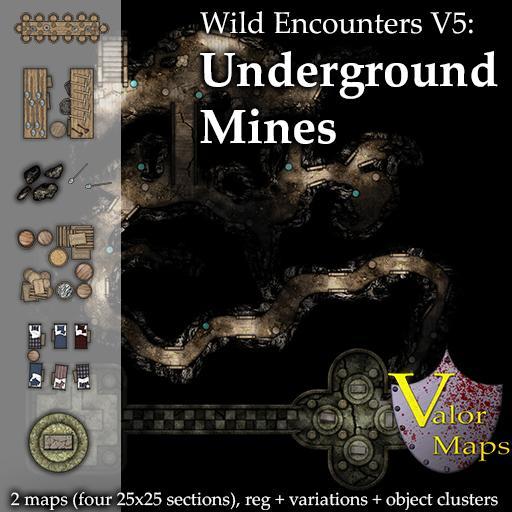 Wild Encounters V5: Underground Mines