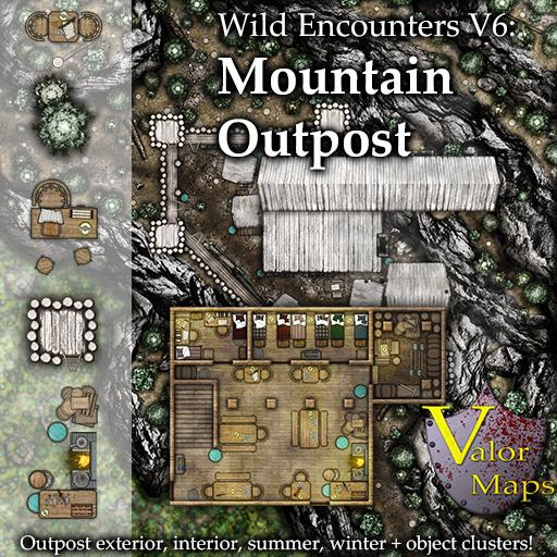 Wild Encounters V6: Mountain Outpost