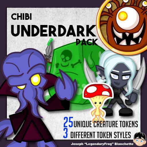Chibi Underdark Pack