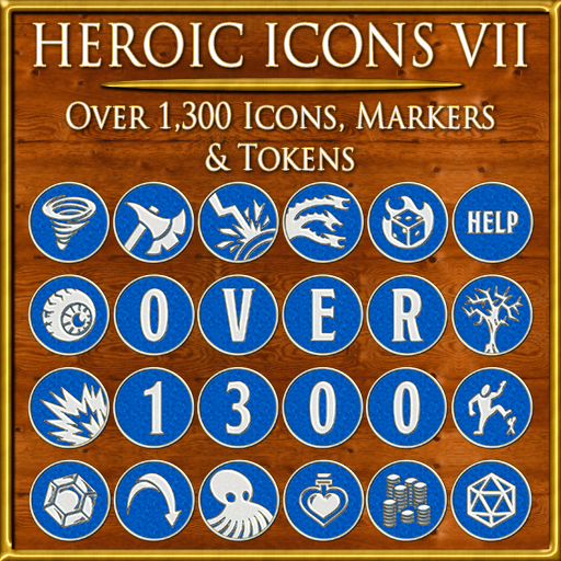 Heroic Icons 7