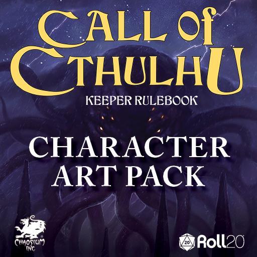 Keeper Rulebook: Character Art Pack