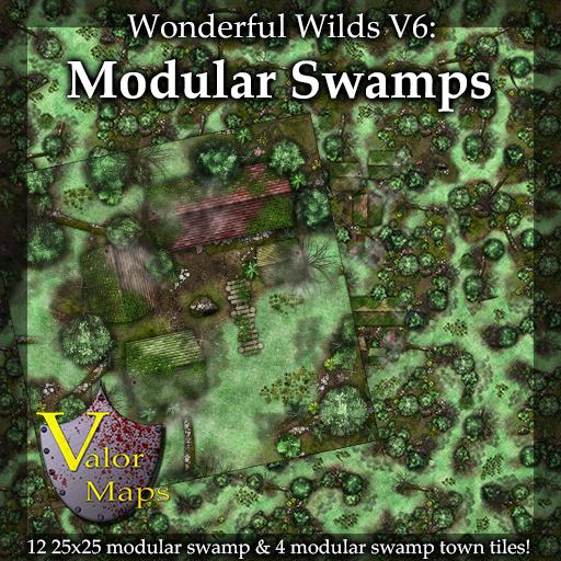 Wonderful Wilds V6: Modular Swamps