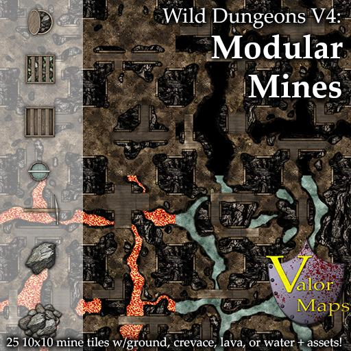 Wild Dungeons V4: Modular Mines
