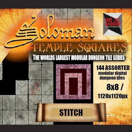 Soloman Temple Squares - STITCH