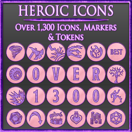 Heroic Icons 9