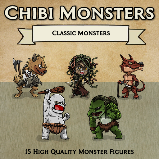 Chibi Monsters - Classic Monsters [Figures]