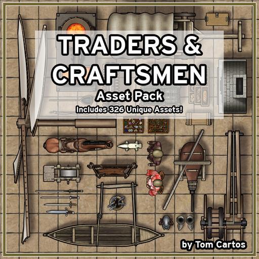 Traders & Craftsmen Asset Pack