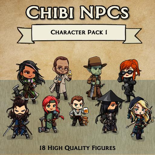 Chibi NPCs - Character Pack 1 [Figures]