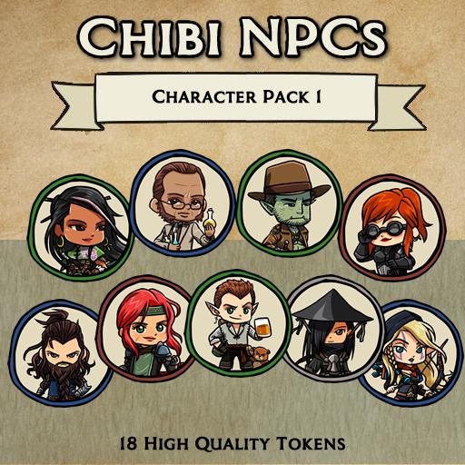 Chibi NPCs - Character Pack 1 [Tokens]