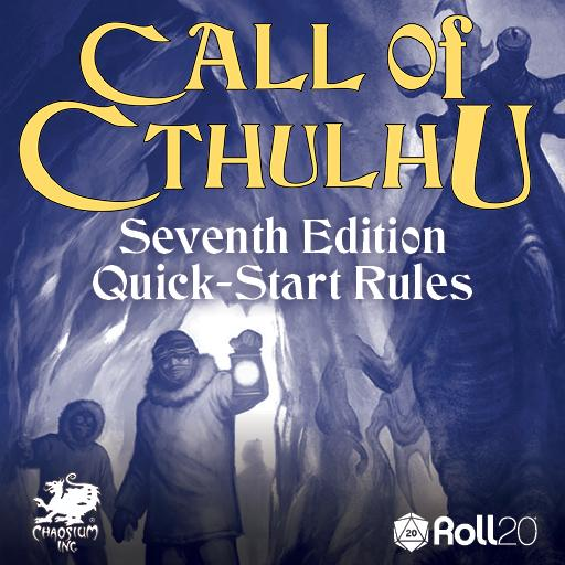 Quick-Start Rules Call of Cthulhu