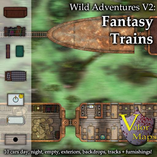 Wild Adventures V2: Fantasy Trains