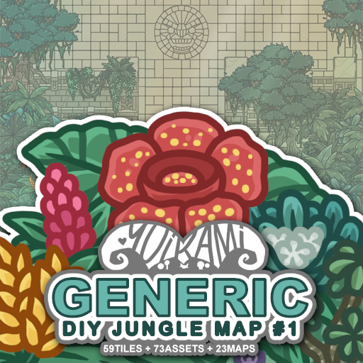 Generic DIY Jungle Map 1