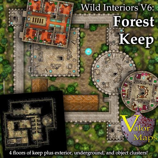 Wild Interiors V6: Forest Keep