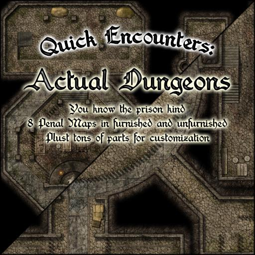 Quick Encounters: Actual Dungeons