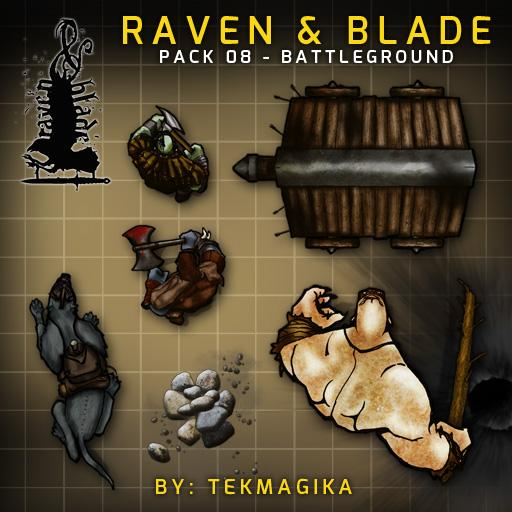 Raven & Blade Pack 8: Battleground