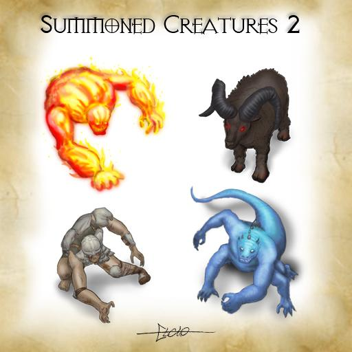 Summoned Creatures - pack 2