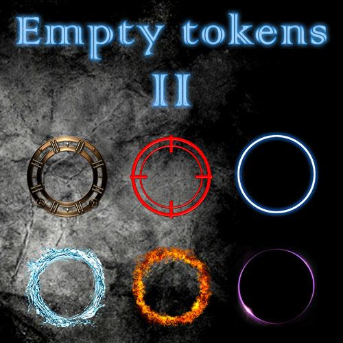 Empty Tokens Pack 2