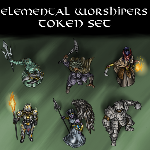 Elemental Worshipers Token Set