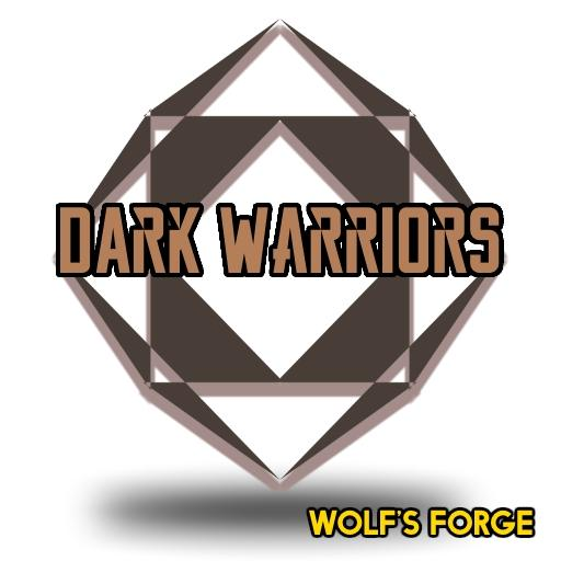 Fantasy Dark Warriors Token Set