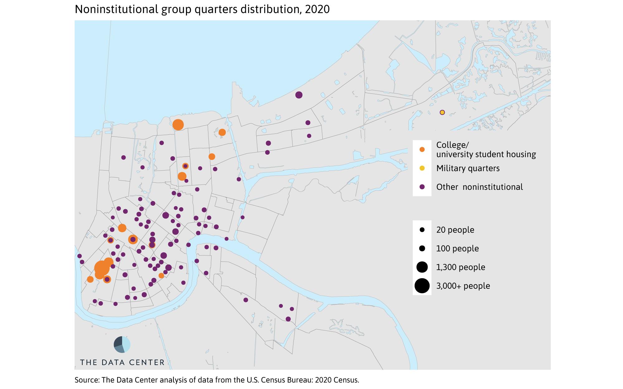 Noninstitutional group quarters