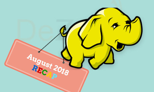 Hadoop News for August 2018