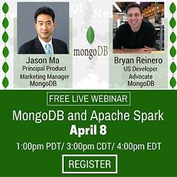 Free Live Webinar: MongoDB and Apache Spark