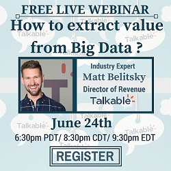 How to extract Value from Big Data
