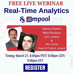 Free Live Webinar: Real-time analytics and Ampool
