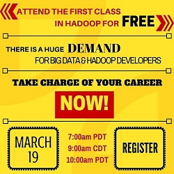 Free Online Big Data and Hadoop Training