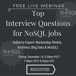 Free Live Webinar: Top  Interview Questions for NoSQL jobs?