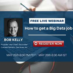 Free Live Webinar: How to get a Big Data Job