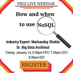 Free Live Webinar: How and when to use NoSQL?