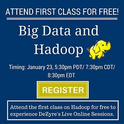Free Big Data and Hadoop Online Training