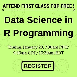 Free Data Science with R Online Training
