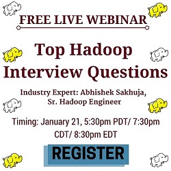 Free Live Webinar: Hadoop Interview Questions