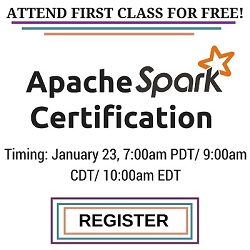Free Apache Spark Online Training