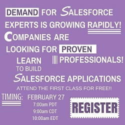 Free Online Salesforce Certification Training