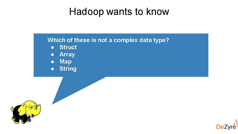 Hadoop Component Hive, Online Hadoop Course