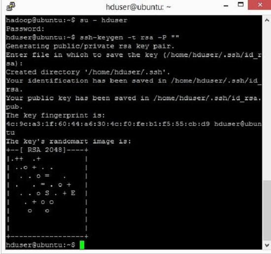 hadoop single cluster install on ubuntu