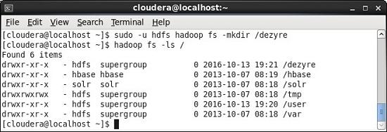 Hadoop chgrp Command