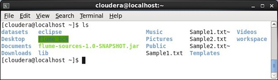 Output of moveFromLocal Hadoop Command