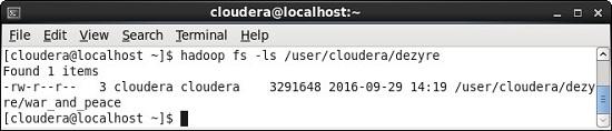 ls Hadoop HDFS Command
