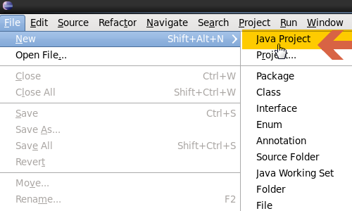 Create Java project in eclipse for Hadoop MapReduce WordCount