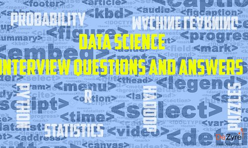 data science interview questions pdf