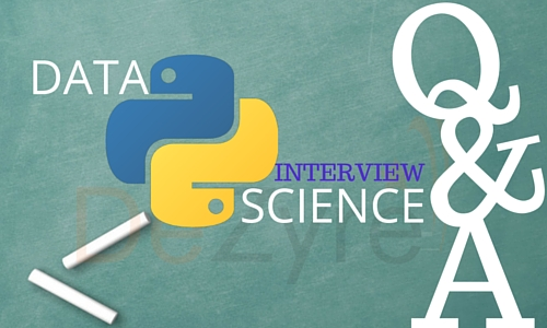 Data Science in Python Interview Questions and Answers