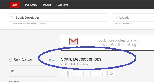 Increasing Job Opportunities for Apache Spark Developers