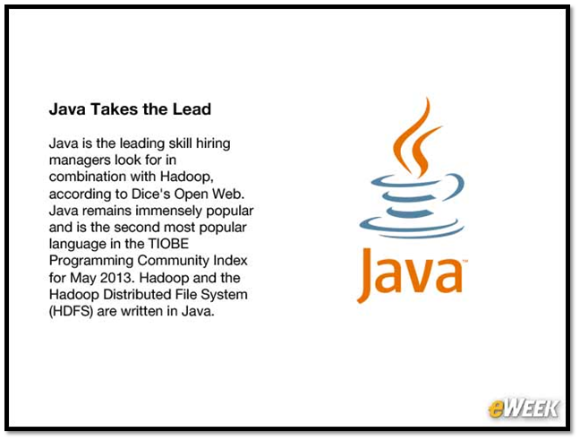 Java for Hadoop